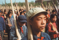 Young pioneers on the eve of the Cultural Revolution, 1965; photographs by Marc Riboud, whose exhibition 'Witness at a Crossroads: Photographer Marc Riboud in Asia' is at the Rubin Museum of Art, New York City, until March 23, 2015