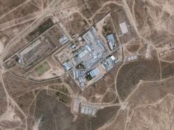 Satellite imagery of