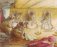 The mice in The Tailor of Gloucester