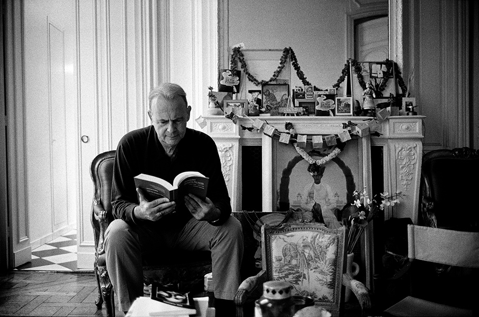 Patrick Modiano, Paris, 2007