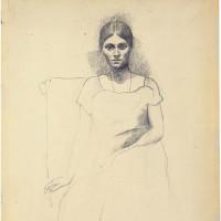 Pablo Picasso: Olga Picasso, Seated, autumn 1918