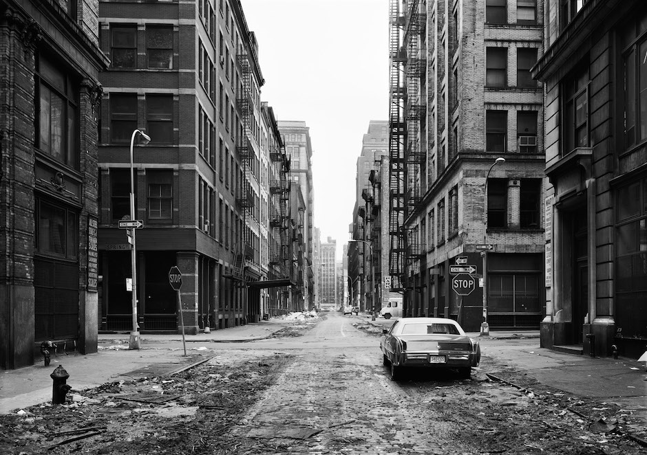 Thomas Struth: Crosby Street, Soho, New York, 1978