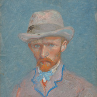 Vincent van Gogh: Self-Portrait, summer 1887
