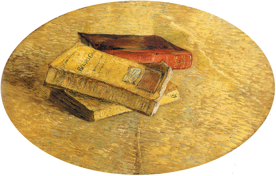 Vincent van Gogh: Still Life with Books, 1887. See Michael Kimmelman's review of Julian Bell's new biography of van Gogh in this issue.