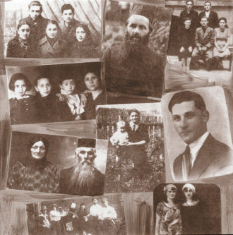 Jewish residents of Jedwabne, Poland, who were killed in the 1941 massacre