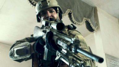 Bradley Cooper as Chris Kyle in Clint Eastwood's American Sniper, 2014