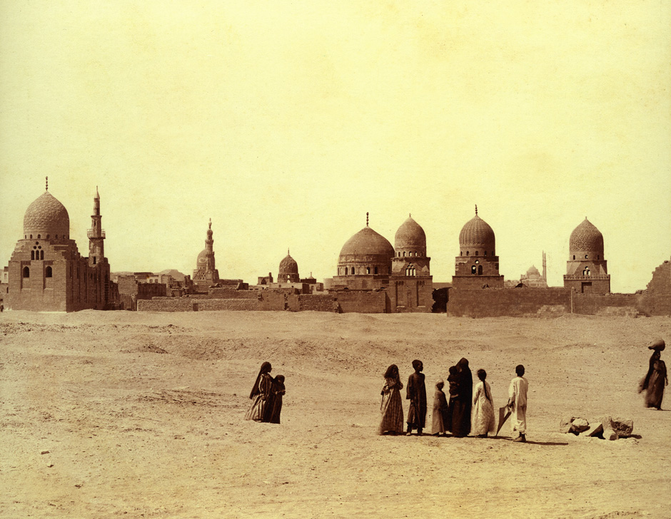 Tombs of the Caliphs in Cairo, Egypt, circa 1880