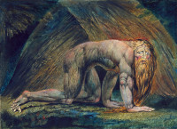 William Blake: Nebuchadnezzar, 1795