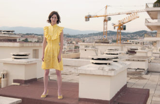 Miranda July, Cannes, France, 2005
