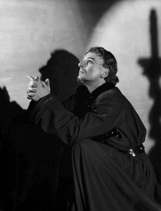 John Gielgud in Shakespeare's Richard II, 1938
