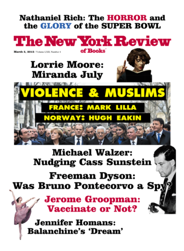 Image of the March 5, 2015 issue cover.