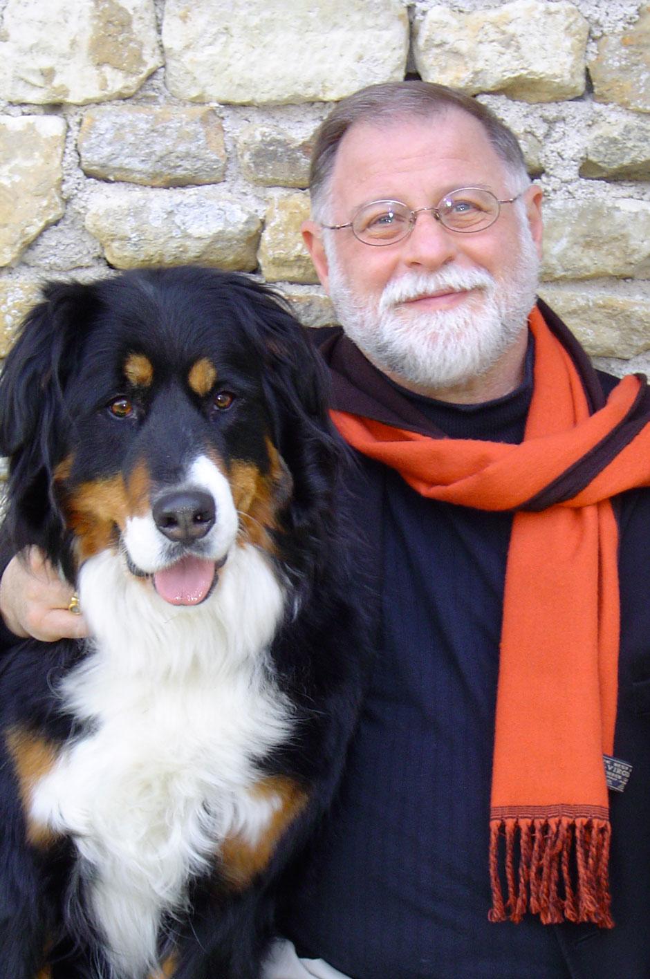 Manguel with dog.jpg
