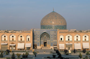 Sheikh Lotfollah Mosque in Isfahan, the last stop on Stephen Greenblatt's trip to Iran