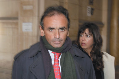 Éric Zemmour arriving at court for his trial on charges of inciting racial hatred, Paris, January 2011