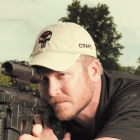 Former Navy SEAL and expert sniper Chris Kyle, Dallas, Texas, April 2012