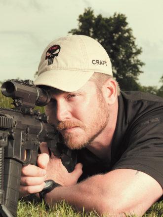 Former Navy SEAL and expert sniper Chris Kyle, Dallas, Texas, April 2012