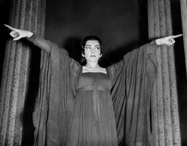 Maria Callas in Luigi Cherubini's Medea, Covent Garden, London, 1959