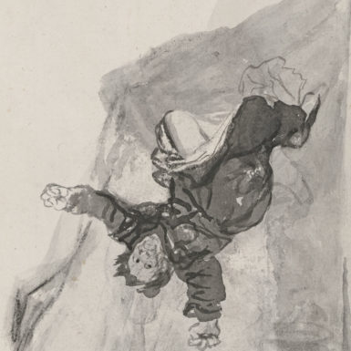 Francisco Goya: Nightmare (detail) 1819-1823