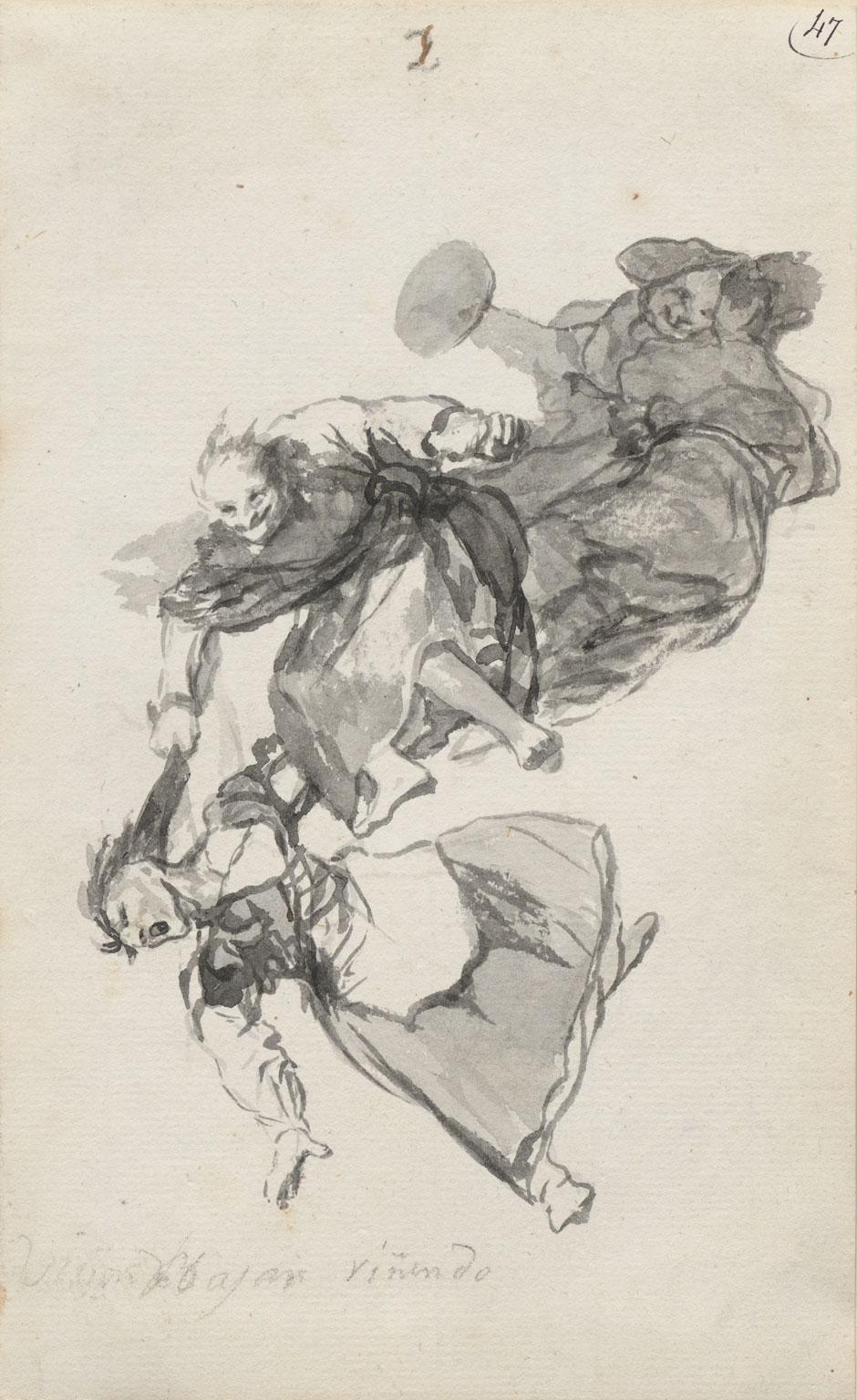 Goya They Descend Quarreling.jpg
