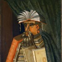 Giuseppe Arcimboldo: <em>The Librarian</em>, 1566.