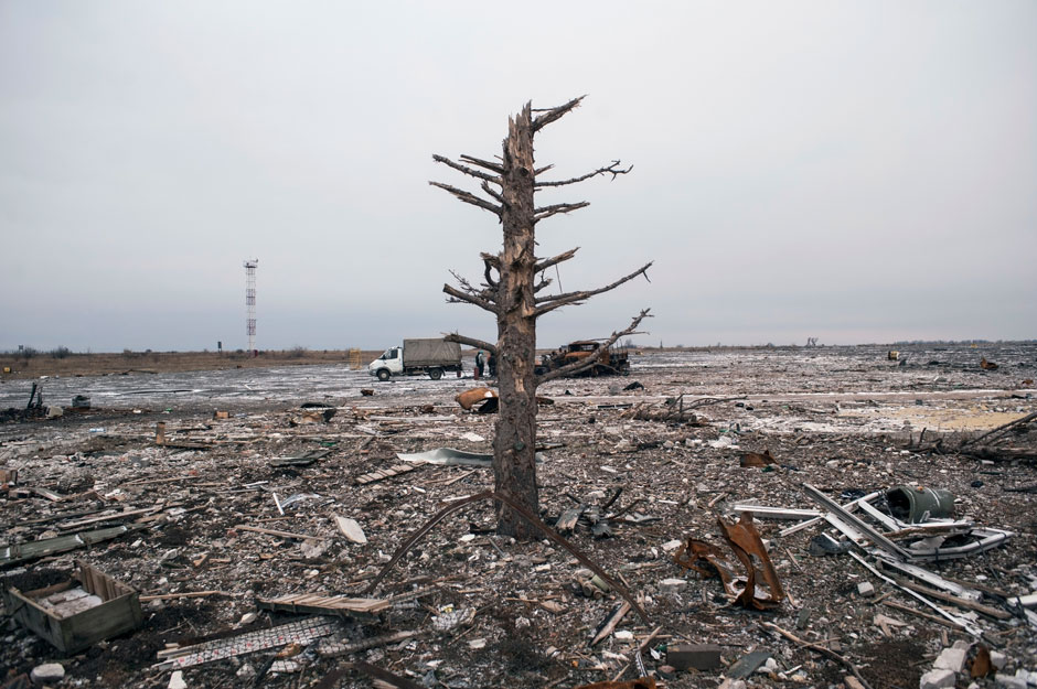Luhansk, East Ukraine, November 28, 2014