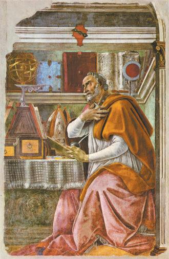 Sandro Botticelli: Saint Augustine in His Study, 1480