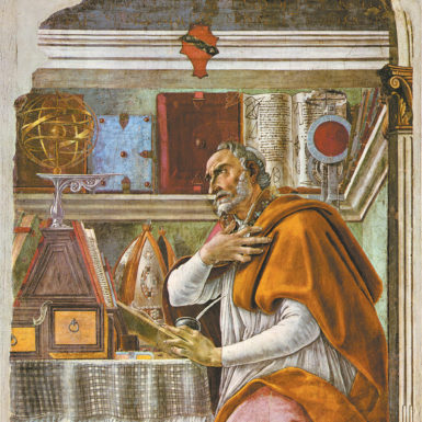 Sandro Botticelli: Saint Augustine in His Study, 1480