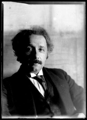 Albert Einstein, Vienna, 1921