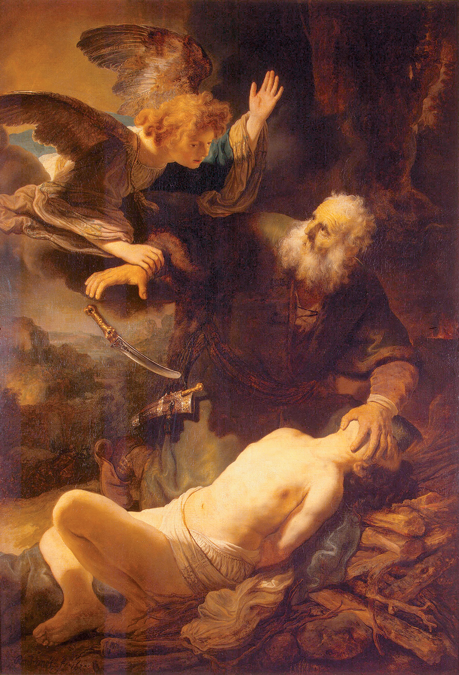 Rembrandt: The Sacrifice of Isaac, 1635
