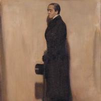 Max Beerbohm; portrait by William Nicholson, 1905