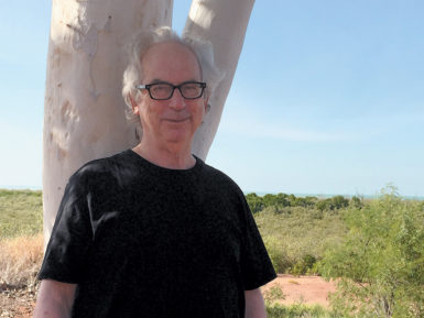 Peter Carey in northwestern Australia, circa 2015
