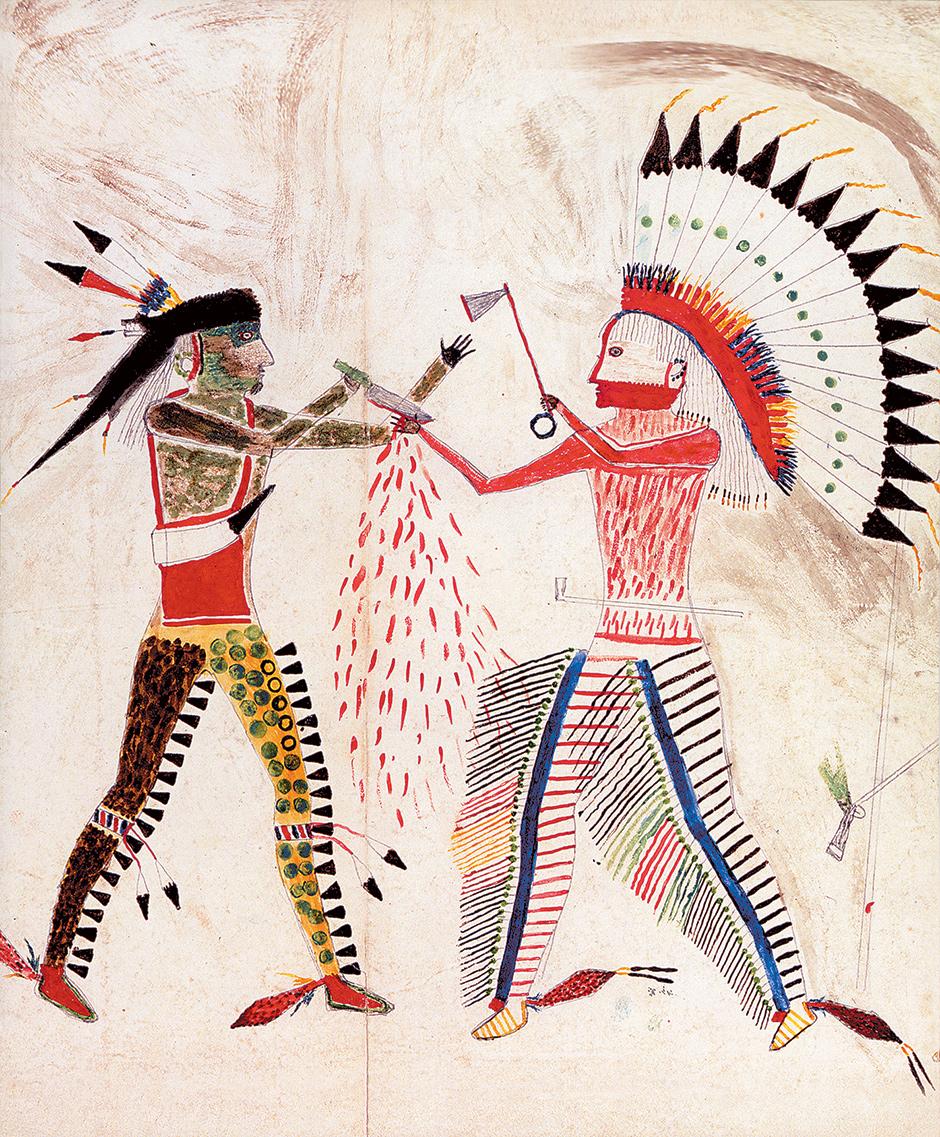 Mató Topé: Battle with a Cheyenne Chief, 1833
