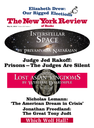Image of the May 21, 2015 issue cover.