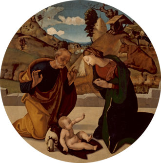 Piero di Cosimo: The Adoration of the Child, circa 1505