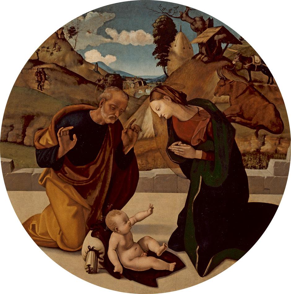 Piero di Cosimo: The Adoration of the Child, circa 1505