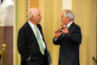 Senators Ben Cardin and Bob Corker, Washington, DC, May 7, 2015