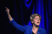 Senator Elizabeth Warren at the Good Jobs Green Jobs National Conference, Washington, DC, April 13, 2015