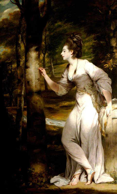 Joshua Reynolds: Mrs. Lloyd, 1775-1776