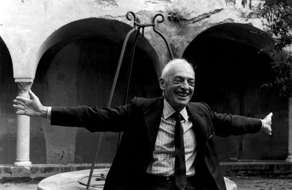 Saul Bellow in Capri, 1984