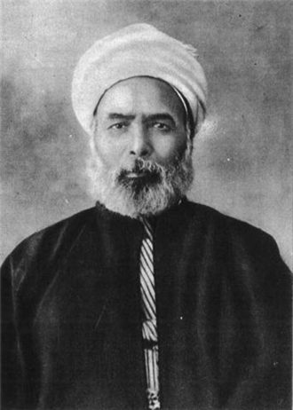 Muhammad Abduh, Egypt's senior judicial authority at the start of the twentieth century and an admirer of Darwin. He is now recognized, according to Christopher de Bellaigue, 'as one of the most influential liberal Islamic thinkers.'