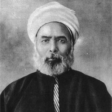 Muhammad Abduh, Egypt's senior judicial authority at the start of the twentieth century and an admirer of Darwin. He is now ­recognized, according to Christopher de Bellaigue, 'as one of the most influential liberal Islamic thinkers.'