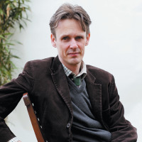Ian Bostridge at the Hay Festival, Hay-on-Wye, Wales, 2012