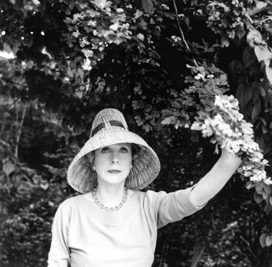 Lady Diana Cooper, May 1960; photograph by Cecil Beaton