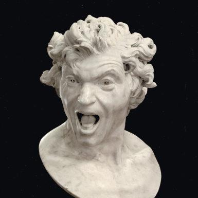 Gian Lorenzo Bernini: Anima dannata (Damned Soul), circa 1619
