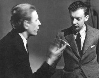 W.H. Auden, left, with Benjamin Britten, 1939-41