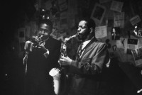 Ornette Coleman with Don Cherry at the 5 Spot Cafe, New York City, November 17, 1959