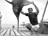 Ernest Hemingway in Key West, Florida