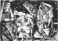 Pablo Picasso: Blind Minotaur, 1934–1935