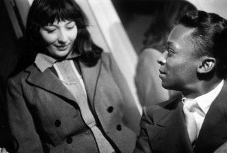 Juliette Gréco and Miles Davis at the Salle Pleyel, Paris, 1949