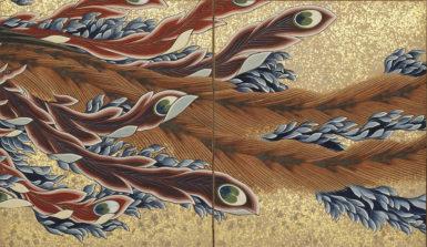 Katsushika Hokusai: Phoenix, 1835 (detail)